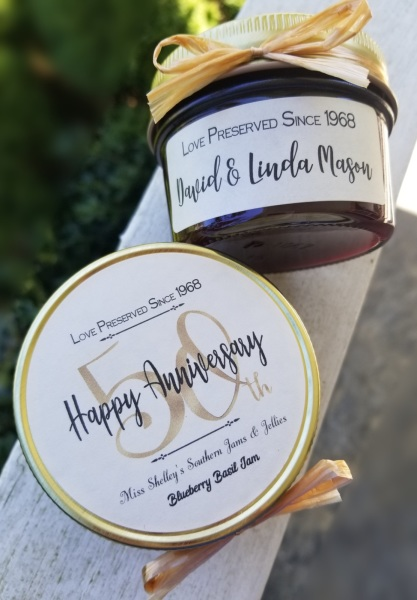 50th Anniversary Favors - Perfectly Preserved
